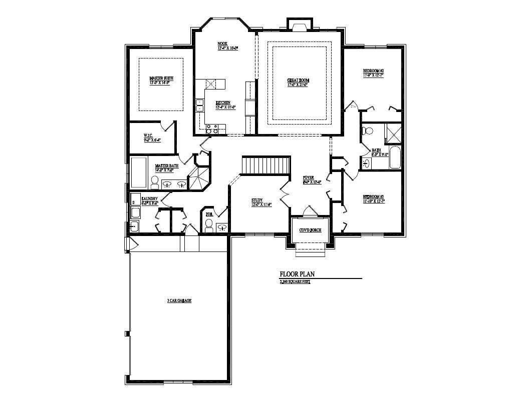 golden homes inc macomb mi renderings the dream 2 360 sf 3 bdrm split ranch floor plan